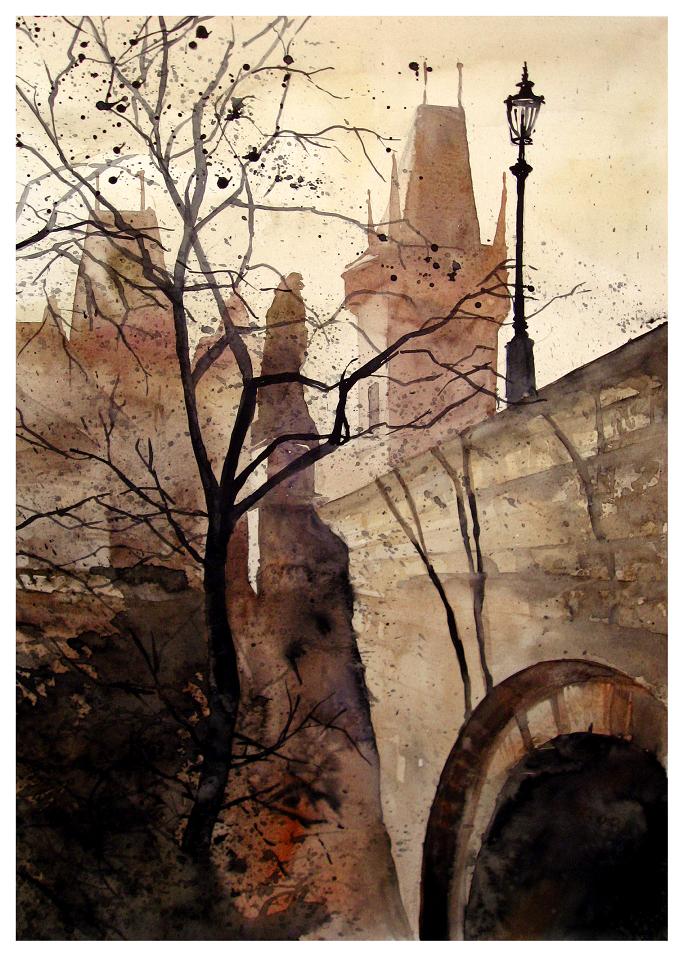 by Neko Gato (watercolors)