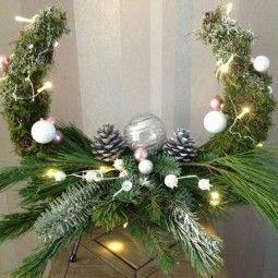Traumhafte Deko zu Weihnachten - 20 Ideen aus Naturmaterialien :) - nettetipps.de #rustikaleweihnachten