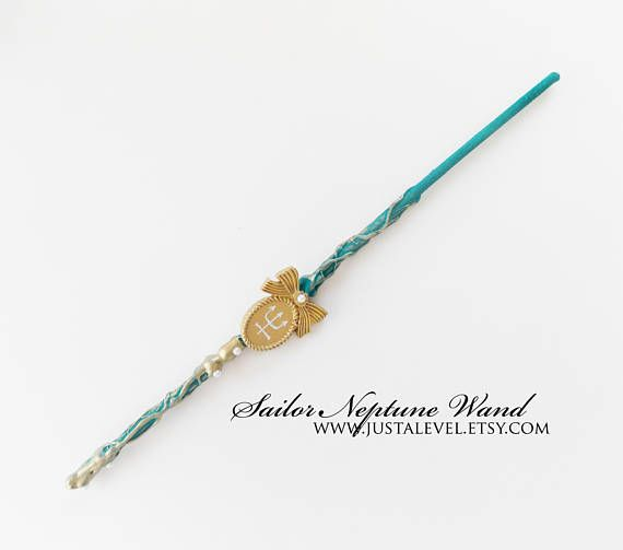 Sailor Neptune Sailor Scout Inspired Wand, Personality Trait