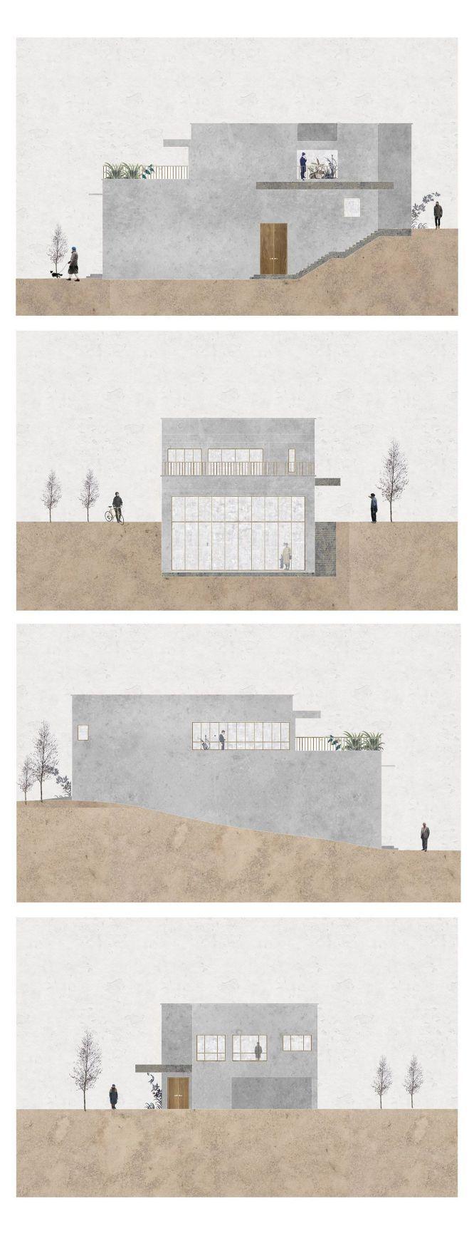 10 creative ways architectural collage #collageboard
