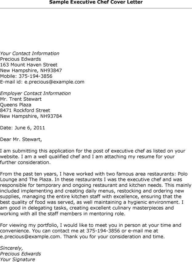 Resume Cover Letter Format Sample Resumecareer Info