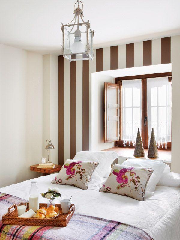 Ideas para decorar los dormitorios deco casita Pinterest - decoracion de interiores dormitorios
