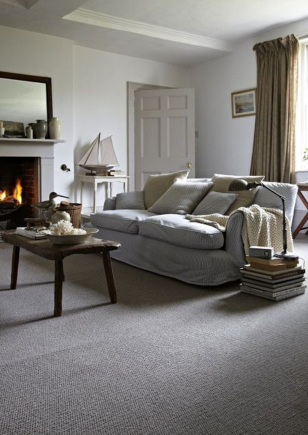 When Carpet's Right  Concrete Smooth And Choices Inspiration Gray Carpet Bedroom Decorating Design