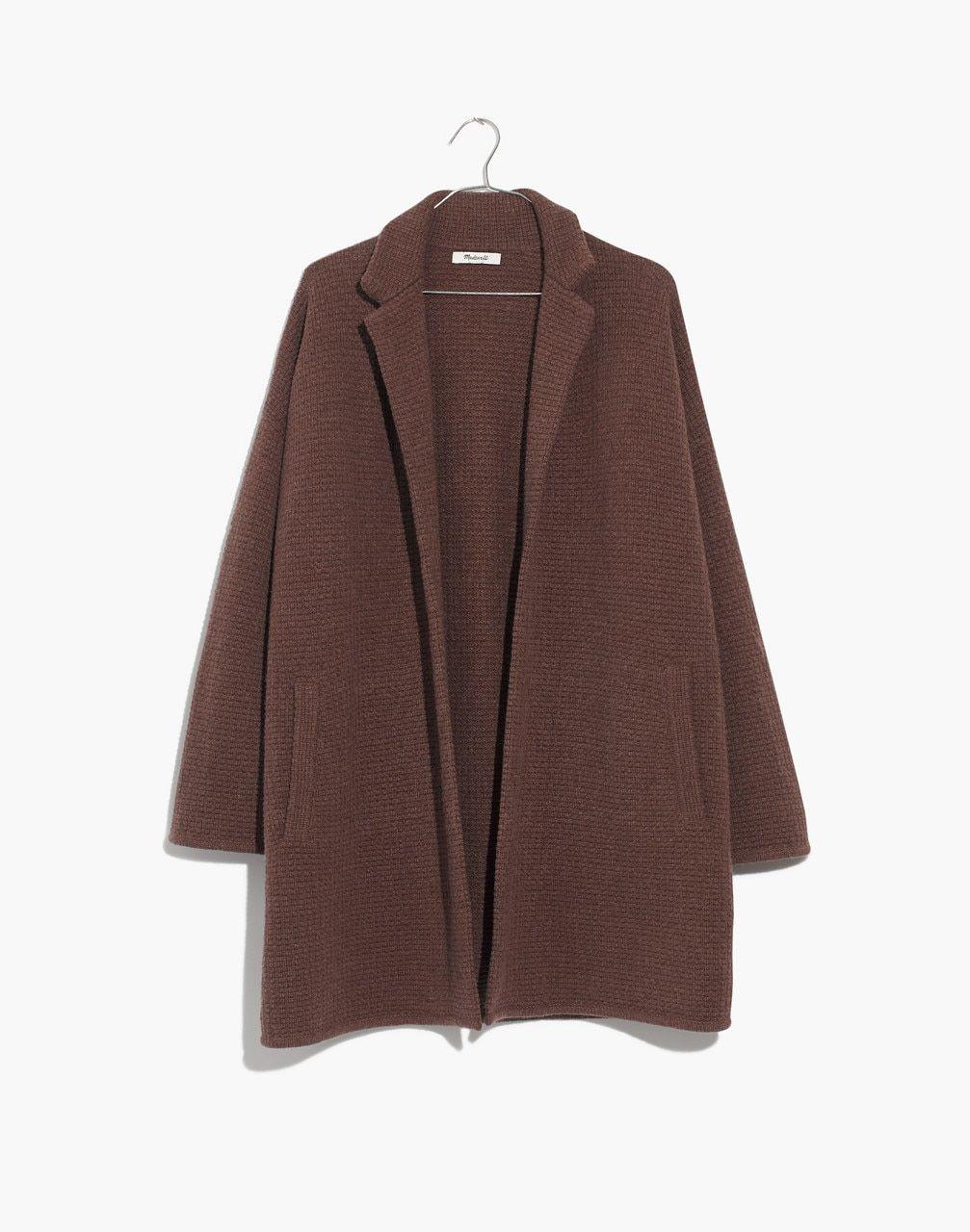 Chilton Sweater-Coat in heather cocoa image 4  aad6940fe