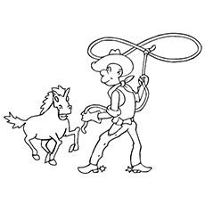 Top 25 Free Printabe Cowboy Coloring Pages Online | Toy ...