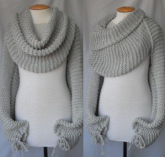 Mary Maxim - Free Chain Stitch Scarf Knit Pattern - Free Patterns ...