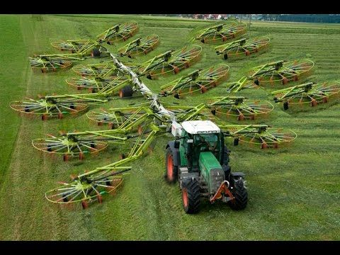 World Amazing Modern Agriculture Equipment And Mega Machines