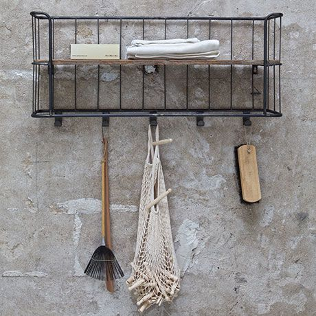 amazing kapstok wall rack by de eekhoorn monoqi with maisons du monde olivet. Black Bedroom Furniture Sets. Home Design Ideas
