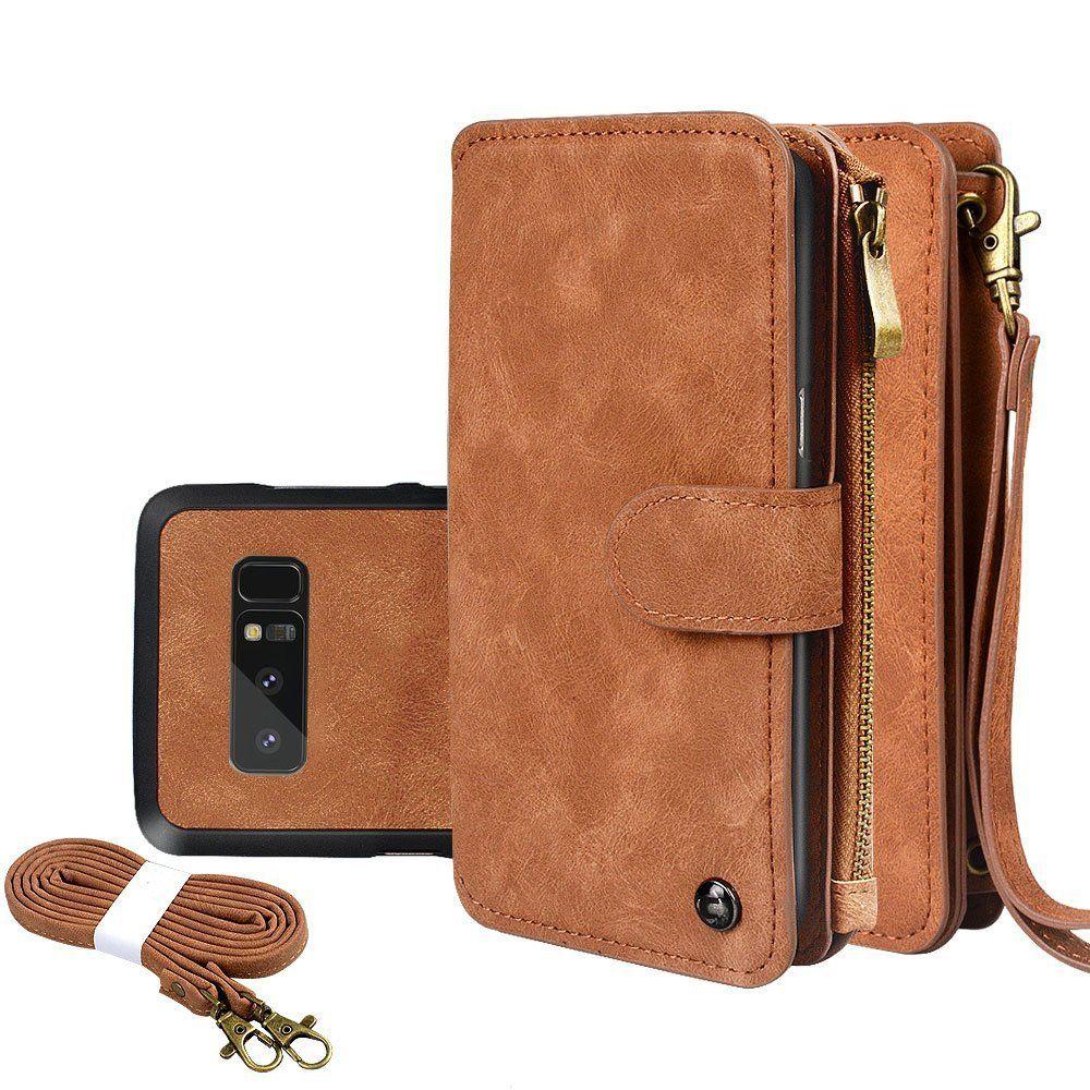 Galaxy note 8 case cornmi leather wallet case