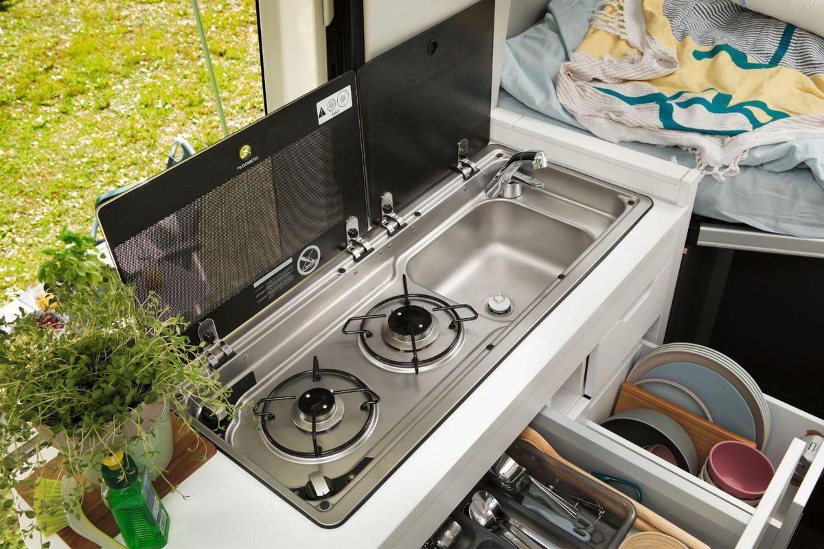 Image Result For Modern Rv Gas Burner Sink Combination Cool Campers Volkswagen Camper