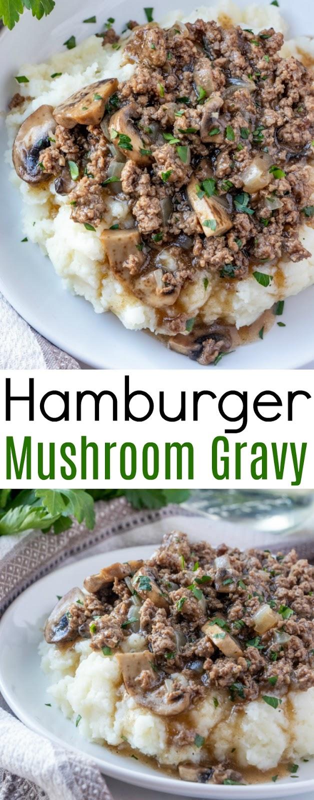 Photo of Hamburger and Mushroom Gravy Recipe