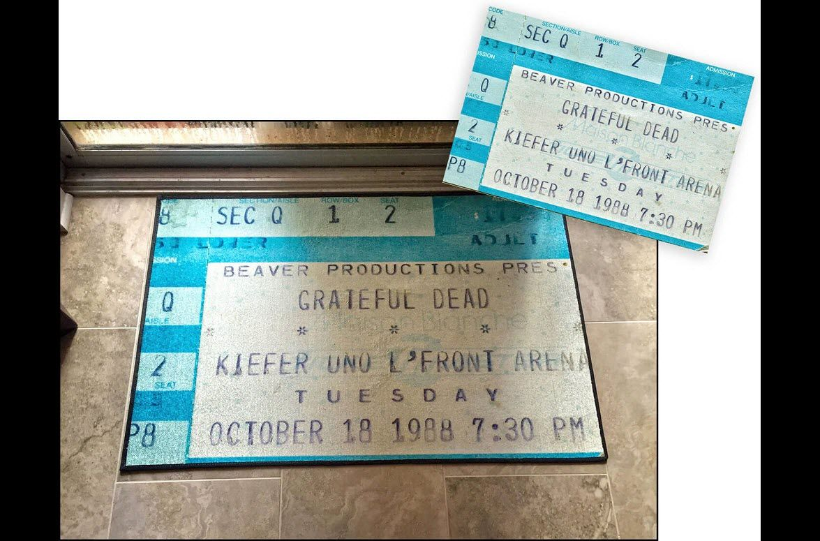 Most of us have collected our share of concert ticket stubs over the