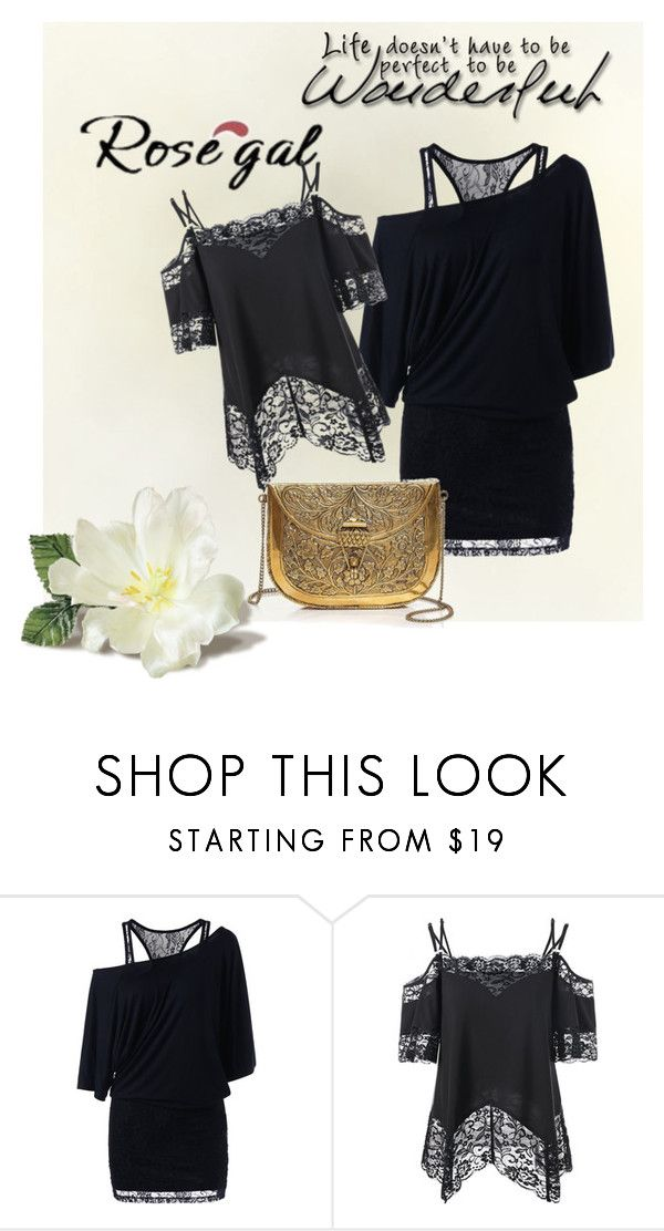 """ROSEGAL"" by heni-743 ❤ liked on Polyvore featuring From St Xavier"