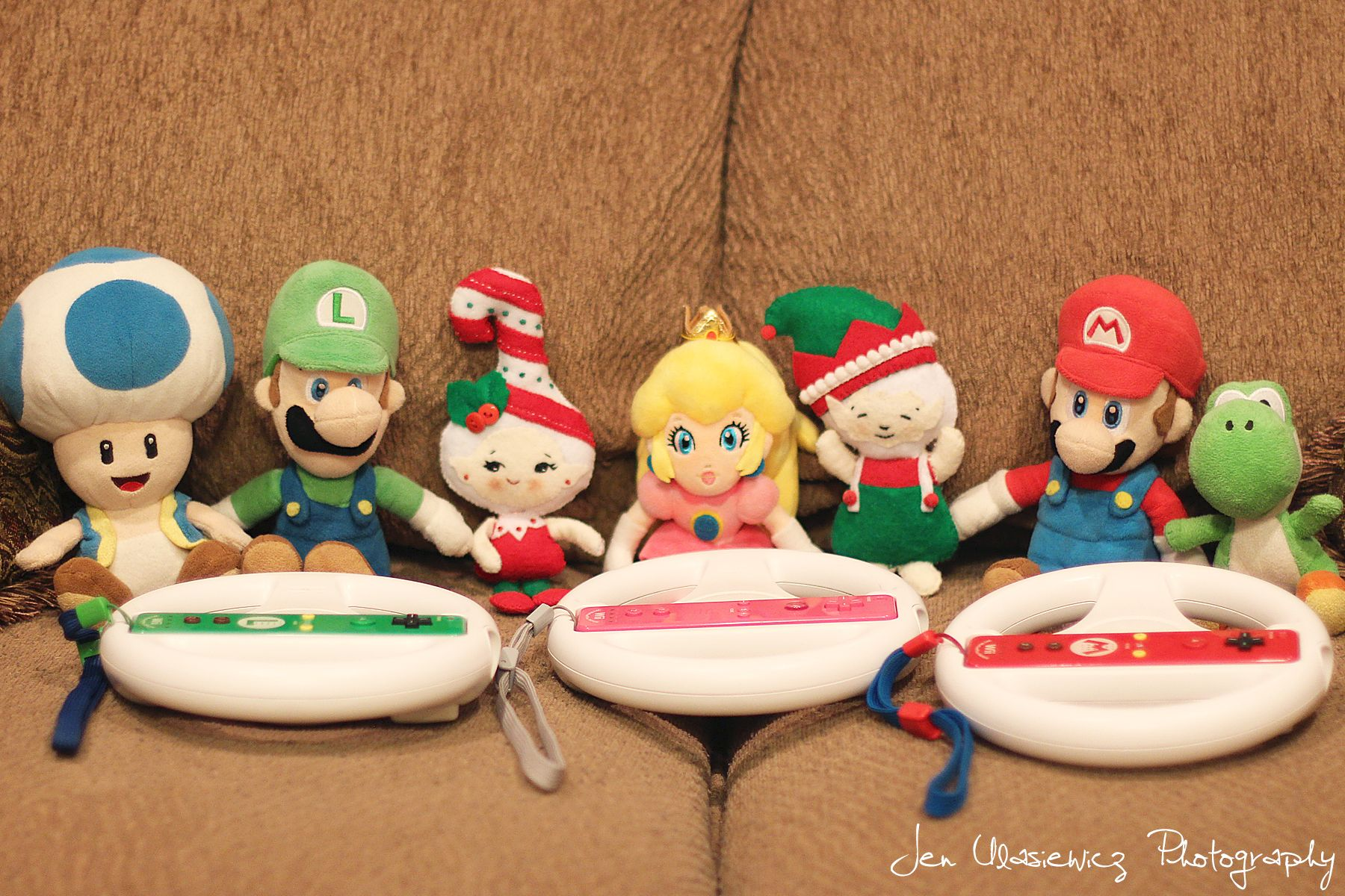 Cool Fiona And Jingle Have Gathered Up Mario And His