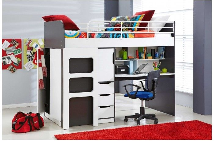 The Oxford Single Loft Bed With Workstation I Would Love