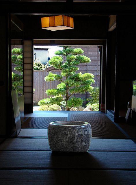 Inside the Kinokuniya Inn, Japan