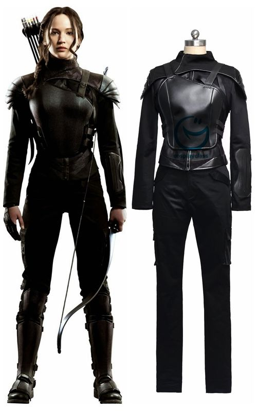 The hunger games mockingjay part 1 katniss everdeen cosplay the hunger games mockingjay part 1 katniss everdeen cosplay costume black versiongame solutioingenieria Gallery