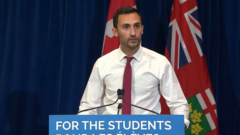 Minister of Education Stephen Lecce in 2020 Education