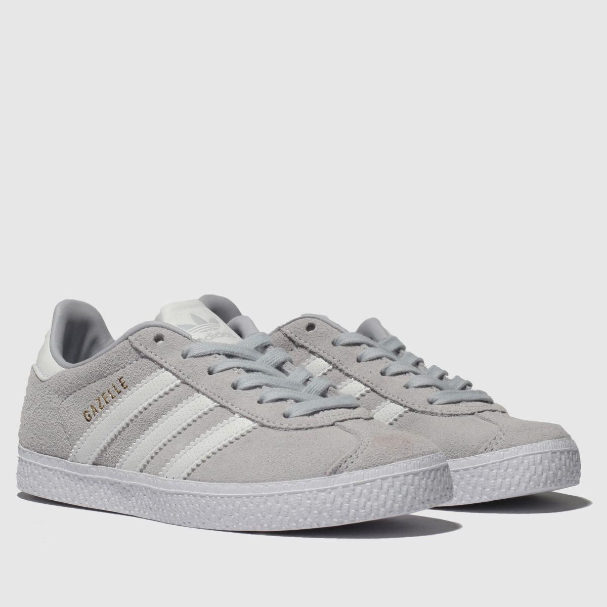 gazelle adidas light grey cheap online