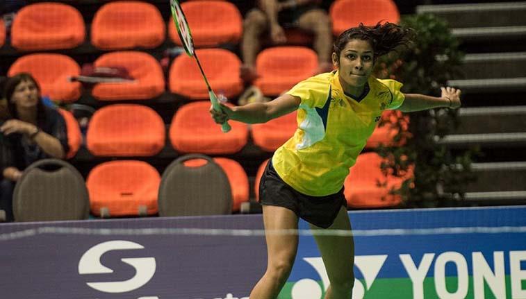 New Delhi Kuhoo Garg And Dhruv Rawat Put Up A Brilliant Effort To Win The Mixed Doubles Title At The Egypt Inte Badminton Badminton Tournament Badminton Sport
