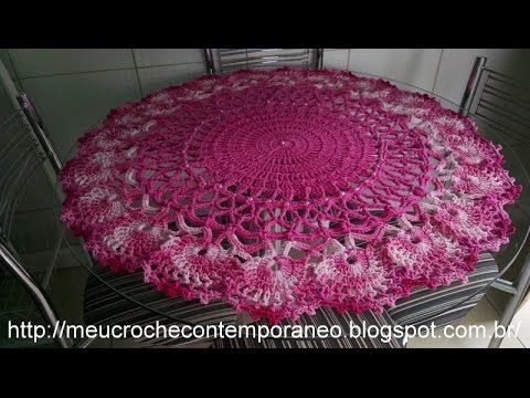Toalha em Crochê Penélope Charmosa, parte 1 - YouTube