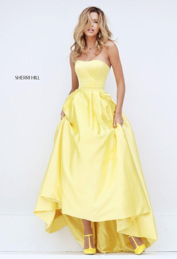 Sheinwhite Unique Prom Dress with Pocket sherri hill 50226 Style [sherri  hill - Unique Prom Dress with Pocket sherri hill 50226 Style