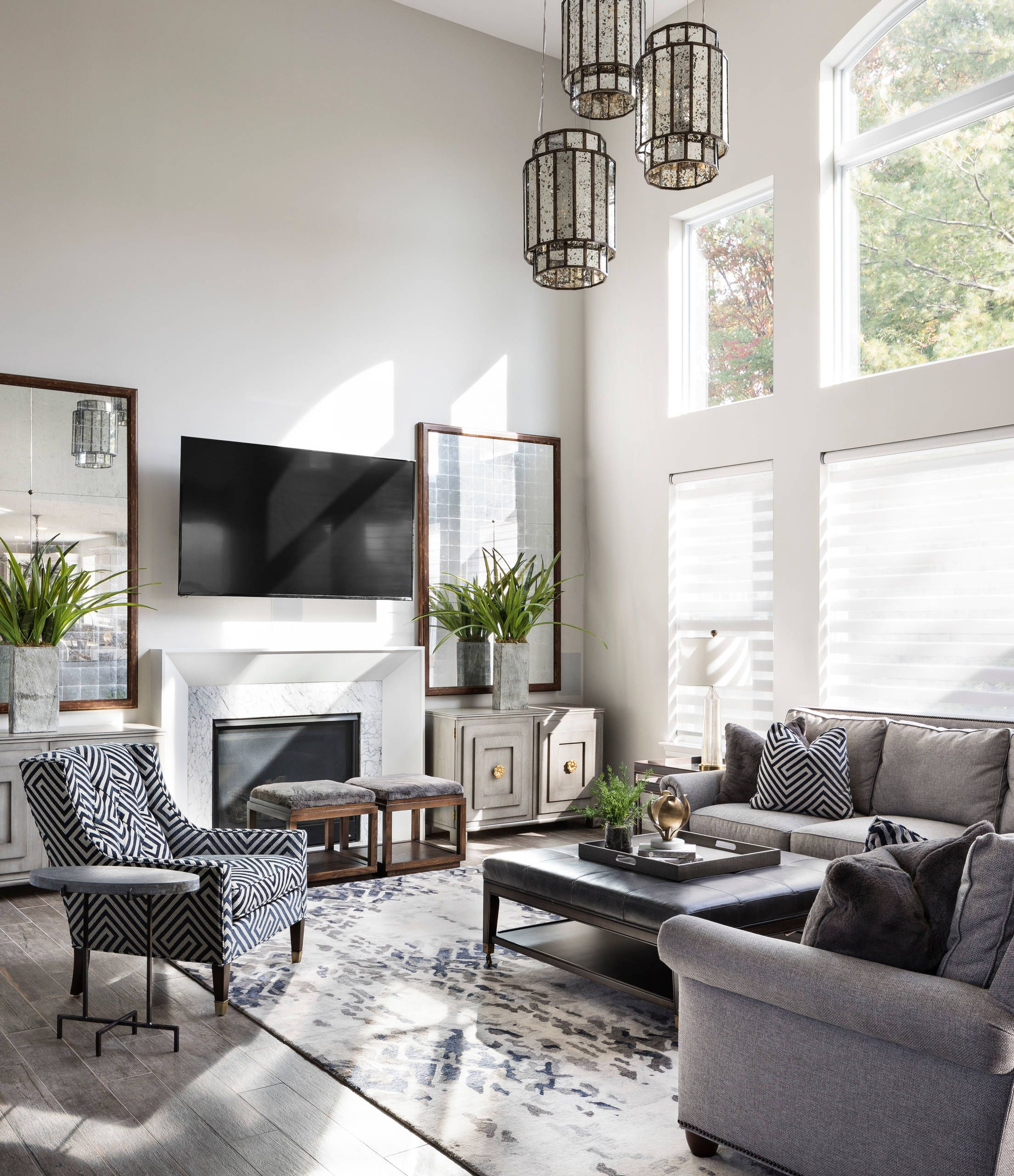 46 Transitional Family Room Designs And Ideas Family Room
