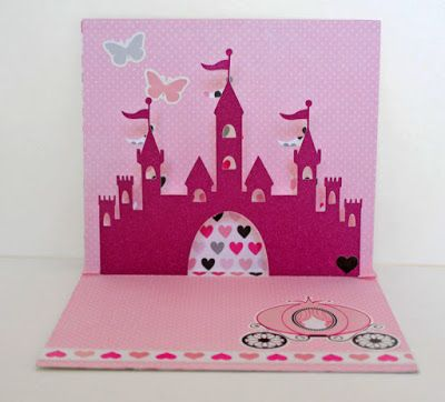 Princess Pop Up Birthday Card