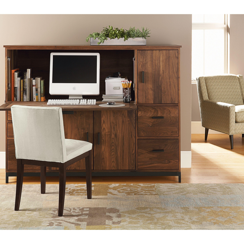 Linear Office Armoires Modern Desk