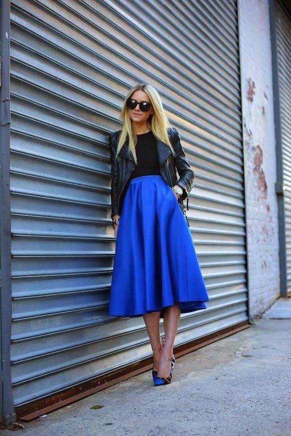 Moda Como combinar faldas Midi Vestidos y faldas, Moda