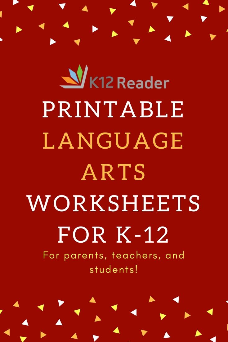 Thousands of free, engaging printable ELA Literacy worksheets and ...
