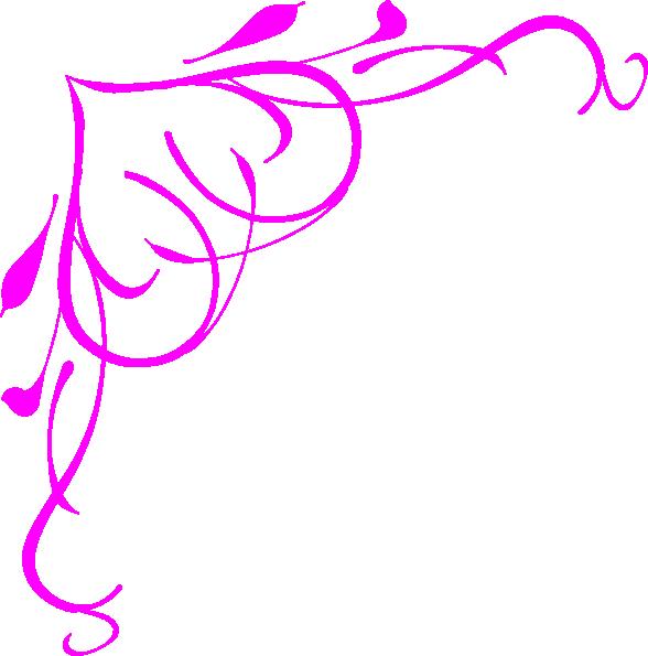 Free Pink Border Clip Art | Pink Heart Border clip art ...