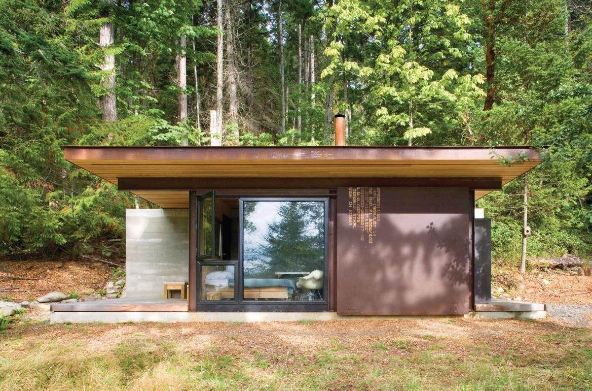 Cette mini maison vitrée de 18m2 est un refuge design dans la nature - PLANETE DECO a homes ...