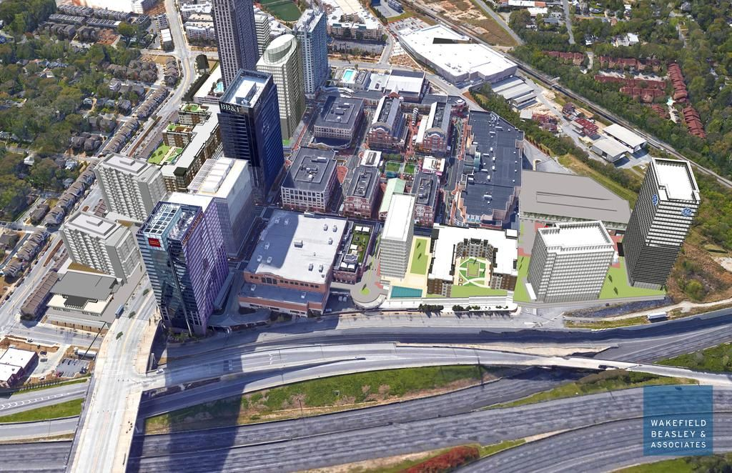 As a means of corporate coercion, CBRE Global Investors — the folks behind Atlantic Station — have released renderings showing a proposed high-rise headquarters for GE and much more. Taking a...