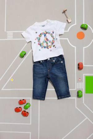@Moschino  denim shorts for baby. #denim #moschino #SS14 #spring #summer #springsummer2014 #childrens #kids #childrenswear #kidswear #kidsfashion #girls #boys