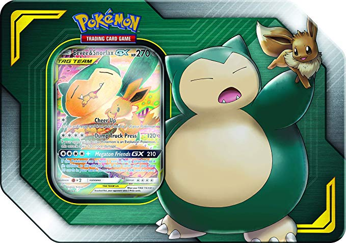 Pokemon TCG Snorlax GX Collection Box New and Sealed!