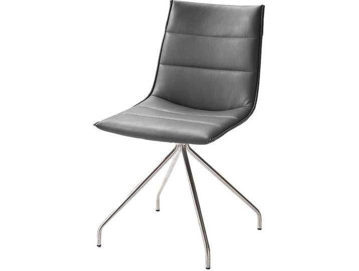 Stuhl Set In Grau Kunstleder Edelstahl 2er Set Chair Decor Home Decor
