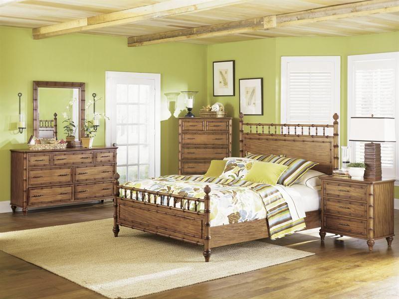 Magnussen Furniture Palm Bay Poster Bedroom Set In Toffee