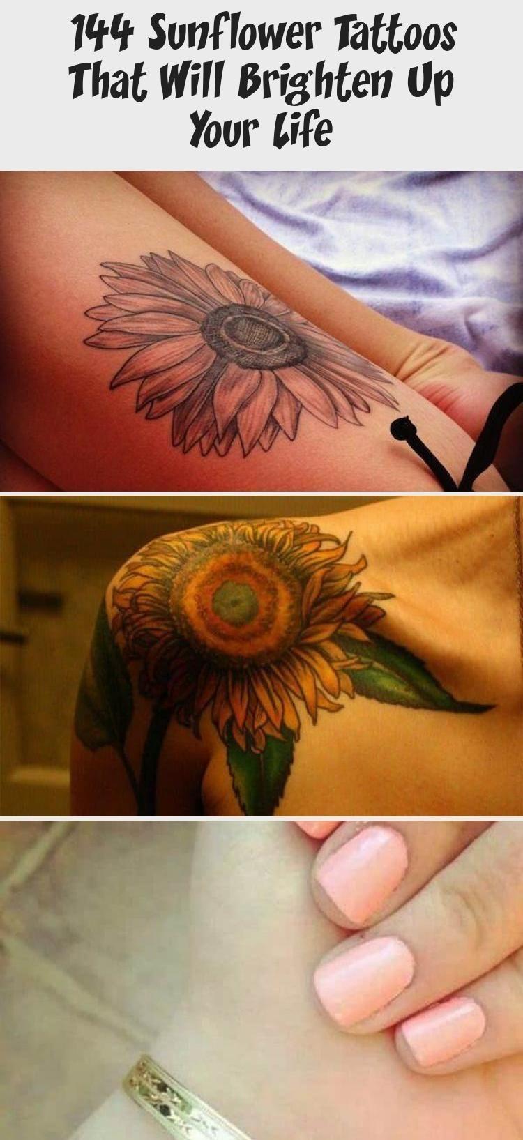Photo of 144 Sunflower Tattoos That Will Brighten Up Your Life #Wildsunflowertattoos #sun…