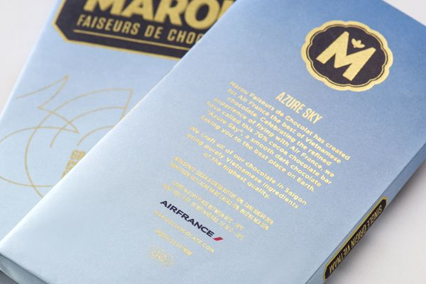 Marou Chocolate for Air France on Behance