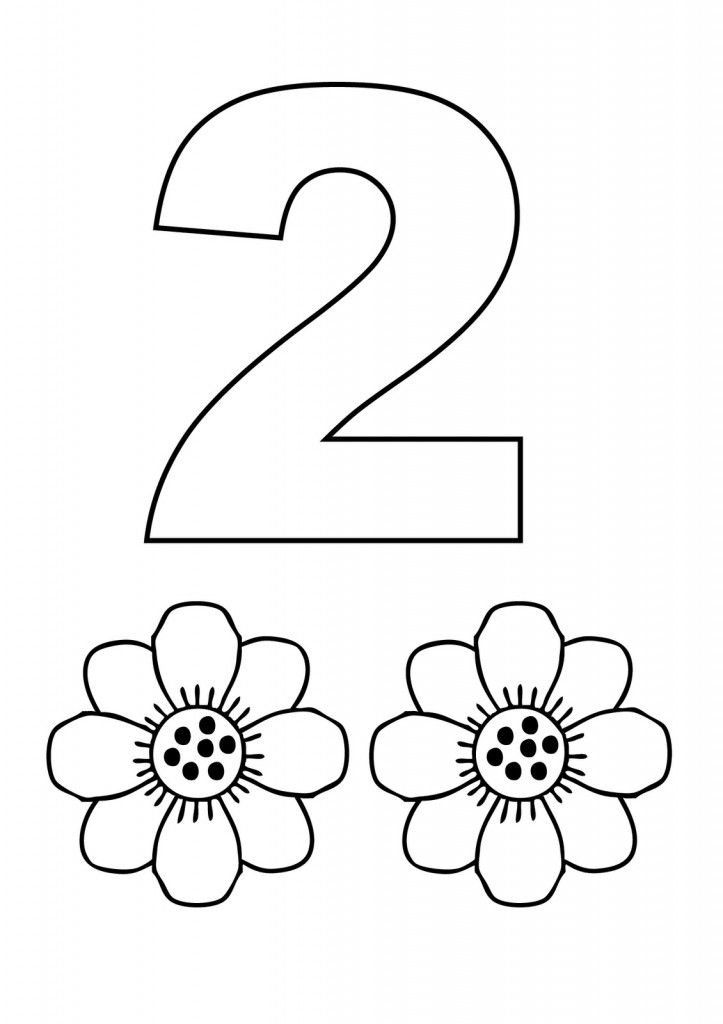 Free Printable Number Coloring Pages For Kids Preschool Coloring Pages Kindergarten Coloring Pages Numbers Preschool