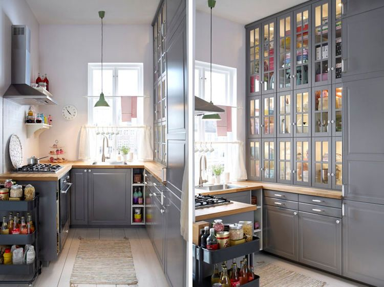Cuisine Ikea Conseils Et Nouveautes Meubles Ilot Credence Cuisine Gris Cuisine Grise Et Bois Cuisine Ikea