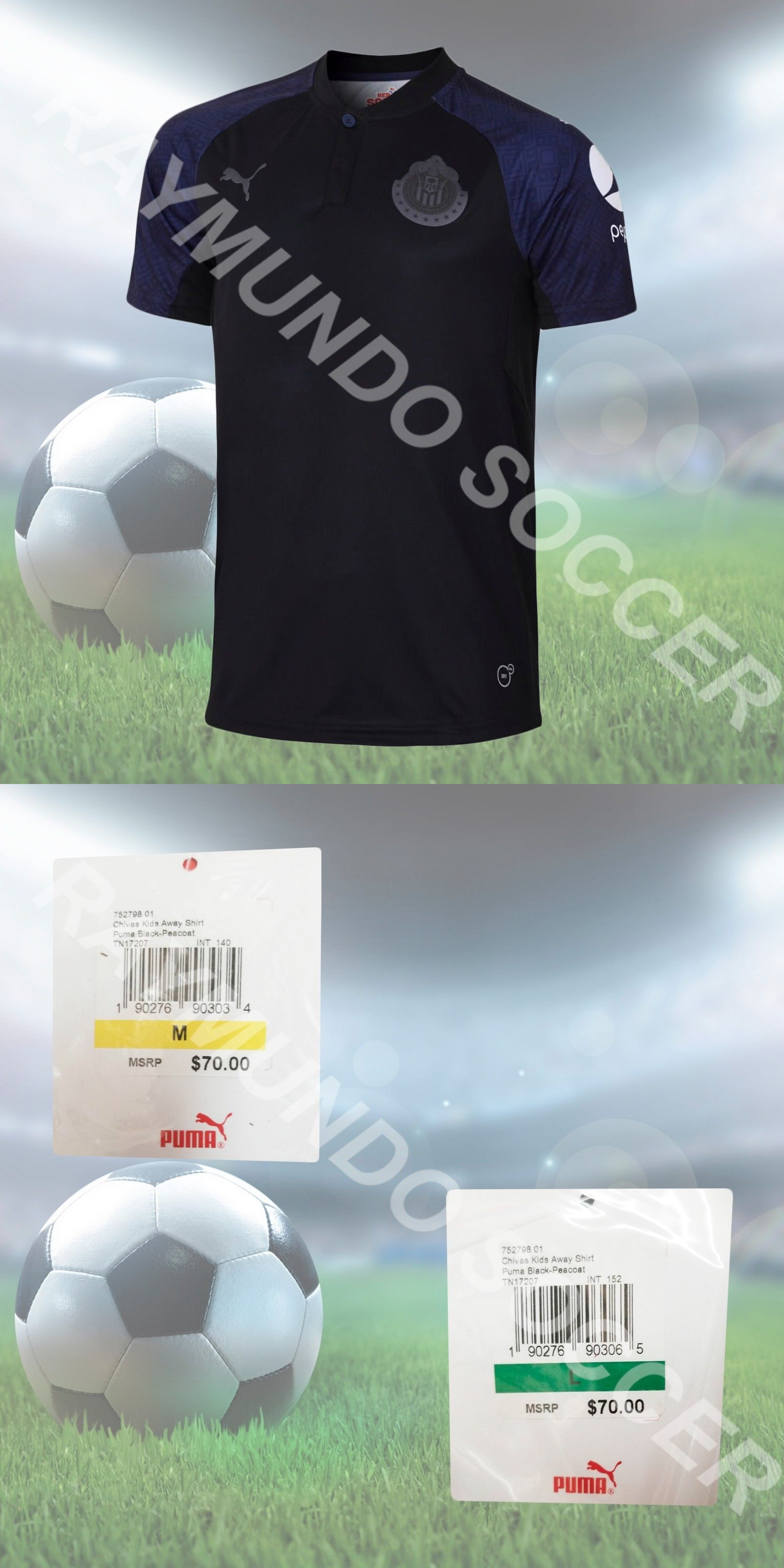 4ac77655539 Clothing 33485  Puma Chivas De Guadalajara Away Jersey Junior 2017 18 -  BUY  IT