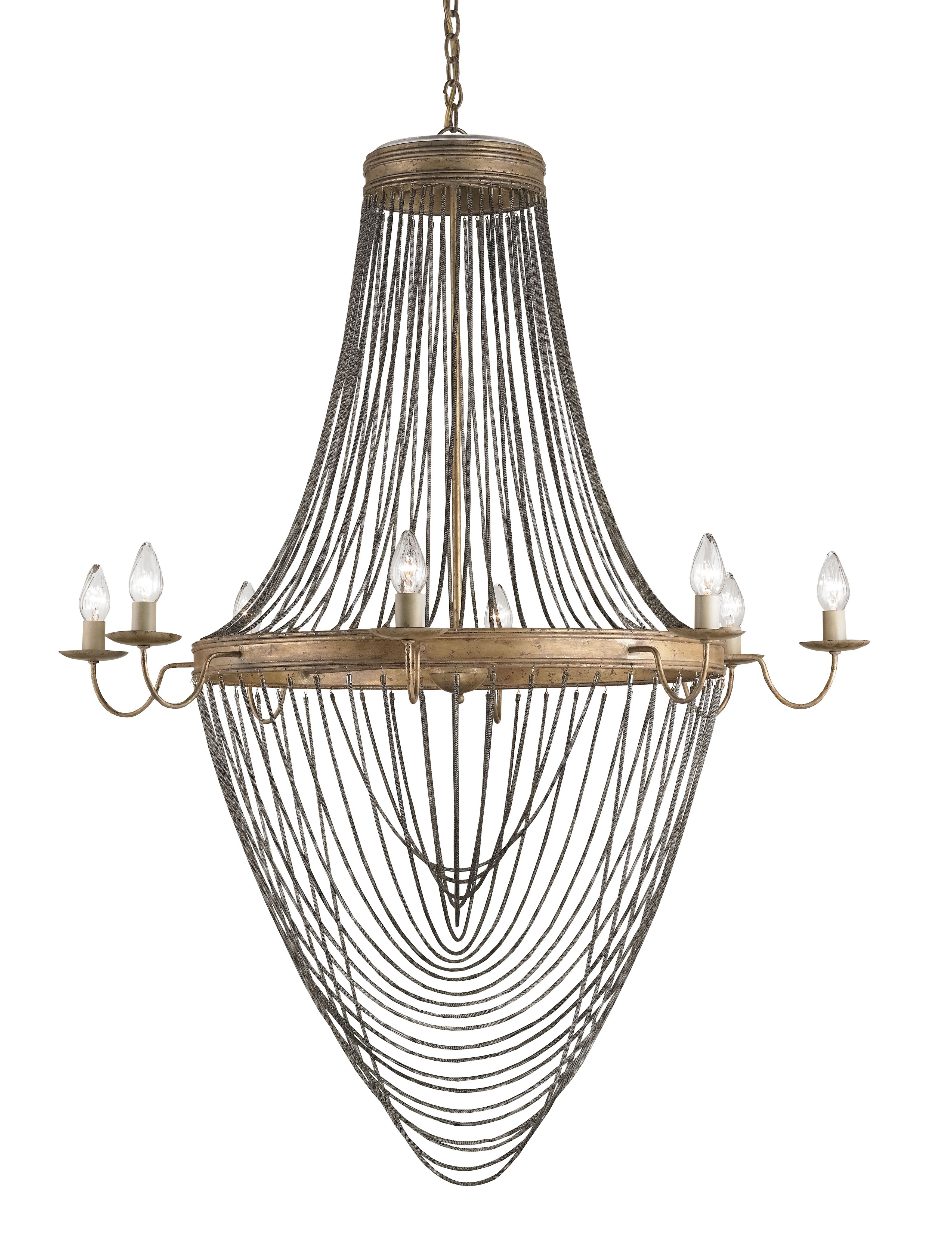 Currey Co Lucien Chandelier 9412 Material Wrought Iron – Antique Chandelier Chain