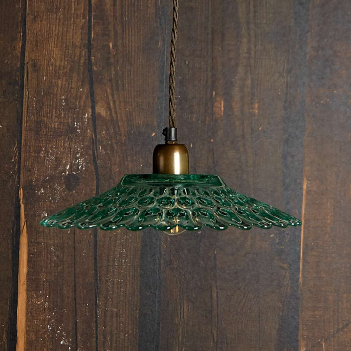 Eider Pendant Light In Recycled Green Glass In 2020 Green Pendant Light Glass Pendant Light Pendant Light