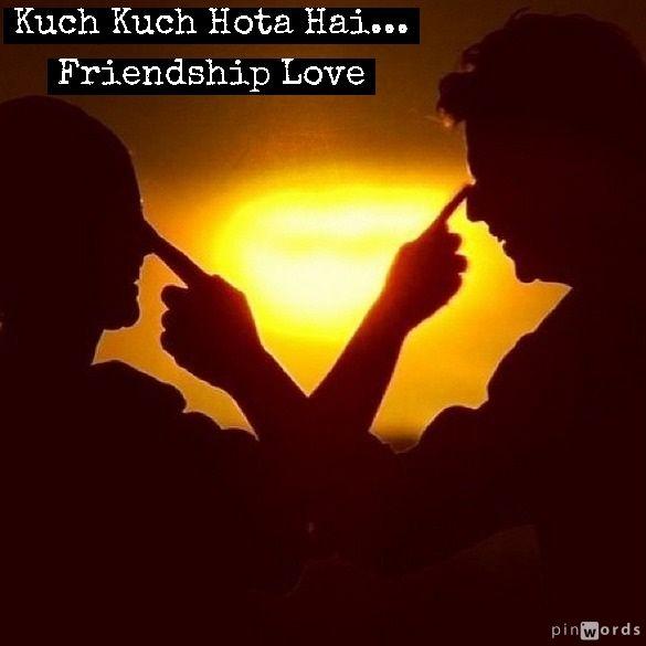 Love It The Kuch Kuch Hota Hai Friendship Made By Me Kuch Kuch Hota Hai Shahrukh Khan Bollywood Songs