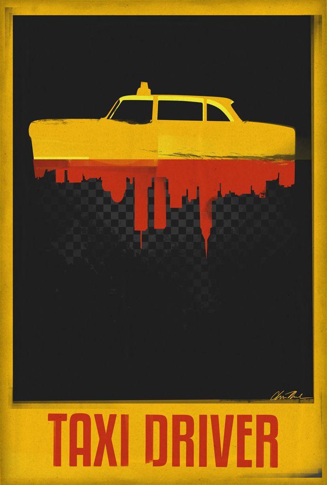 TAXI DRIVER Movie Art Silk Poster 12x18 24x36