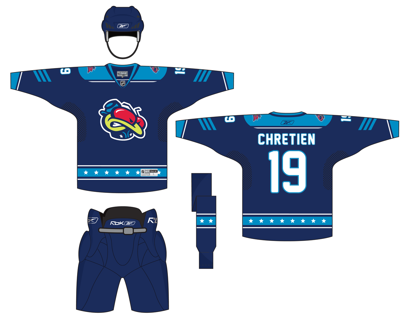 Columbus Blue Jackets Concept Jersey Home Nhl Jerseys Jersey Columbus Blue Jackets
