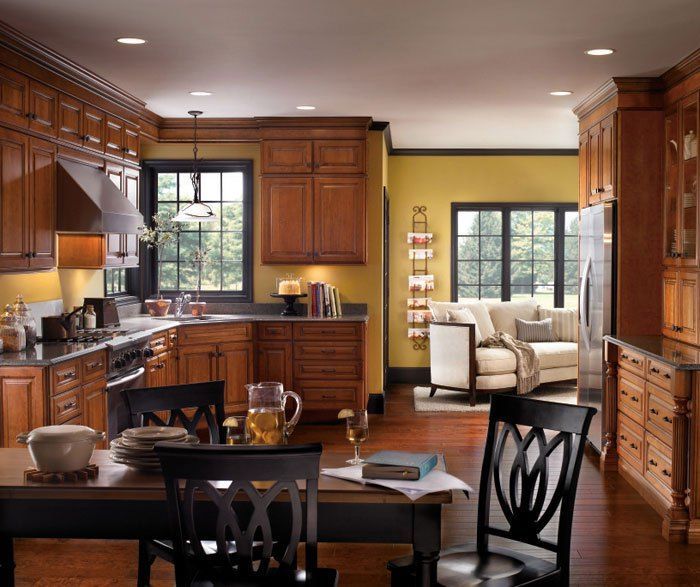 Traditional Cherry Kitchen Cabinets Diamond Cabinetry ...