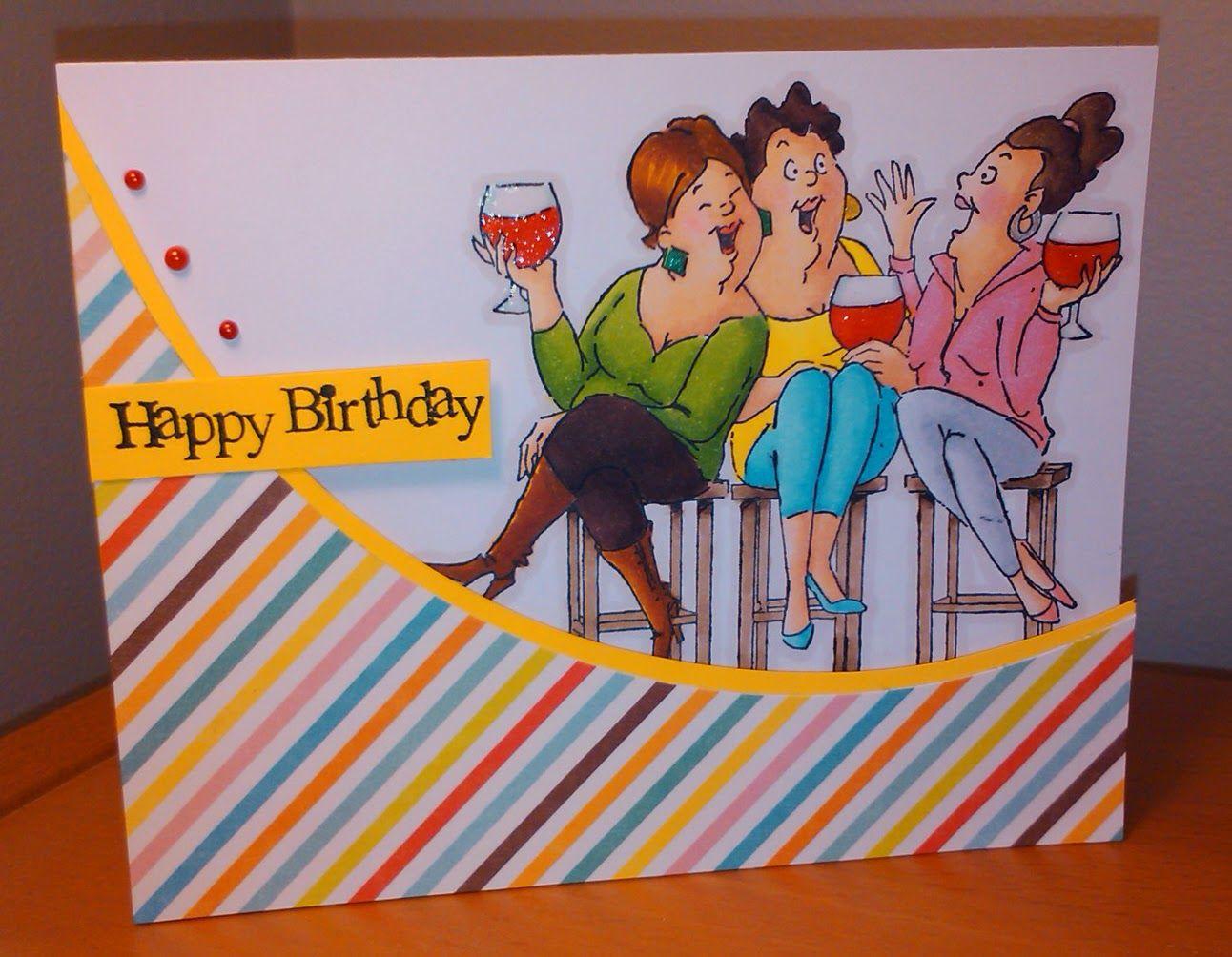 Art impressions wine tasters ai girlfriends handmade